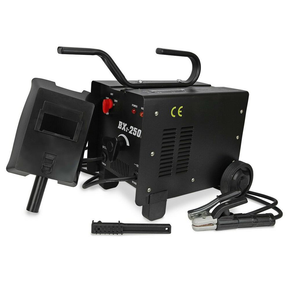 XtremepowerUS 250 Amp ARC Dual Voltage 110-Volt/220-Volt Stick Welder Soldering Welding Machine w/ Accessories Kit
