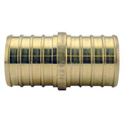 1 in. Brass PEX Barb Coupling