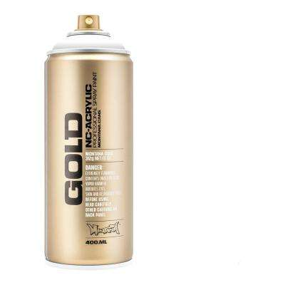 13 oz. GOLD Shock White Pure Spray Paint