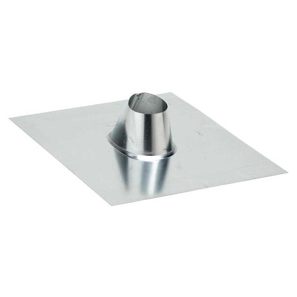4 in. Galvanized Steel Pipe Flashing with FHA Base