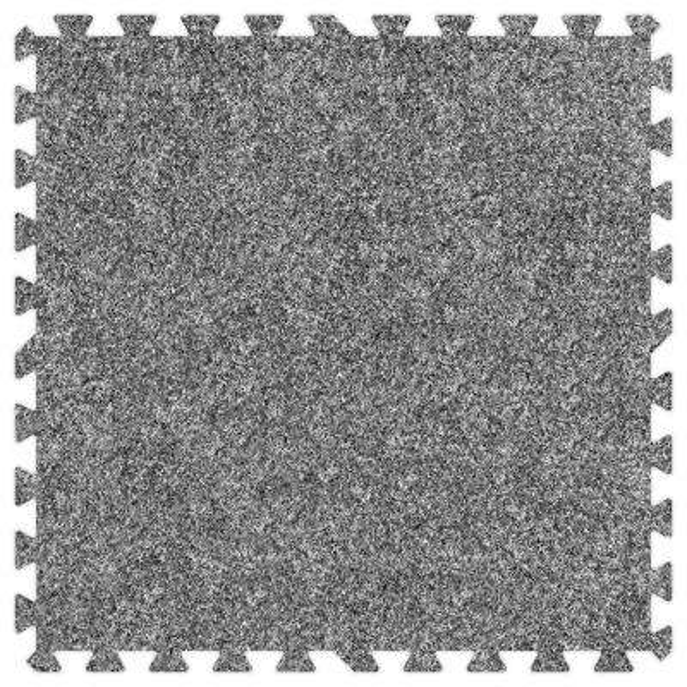 Light Grey 24 in. x 24 in. Comfortable Carpet Mat (100 sq. ft. / Case)