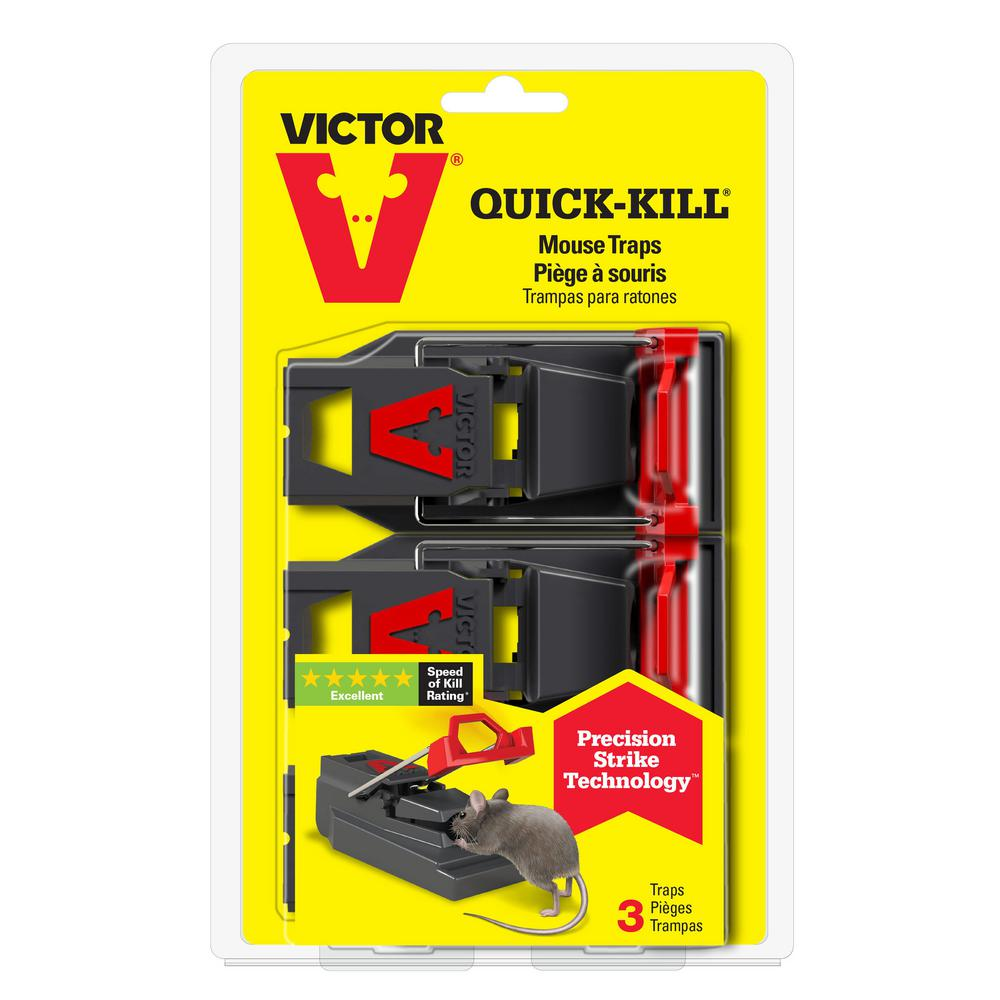 Victor Quick-Kill Mouse Trap (3-Pack)-M140S3