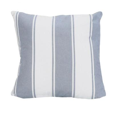 Victoria Multi-Colored Striped 18 in. x 5.5 in. Cotton Throw Pillow