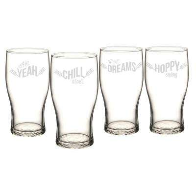 Cathy's Concepts Beer Pun 19 oz. Pilsner Glasses by Pilsner Glasses