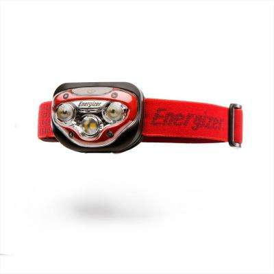 Energizer LED AAA Headlamp with HD Vision Optics, 3 modes Flashlight 50 Hour Run Time, 200 Lumens (Batteries Included)