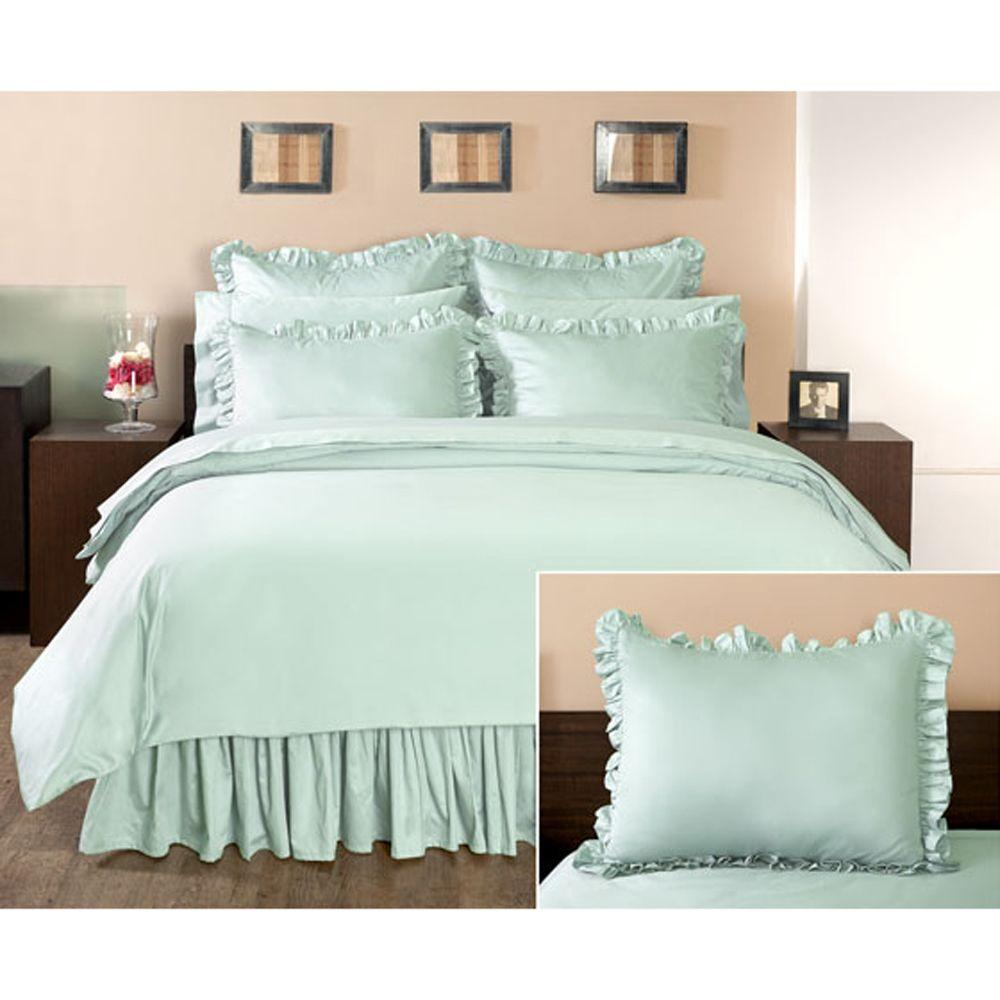 Home Decorators Collection Ruffled Watery Euro Sham