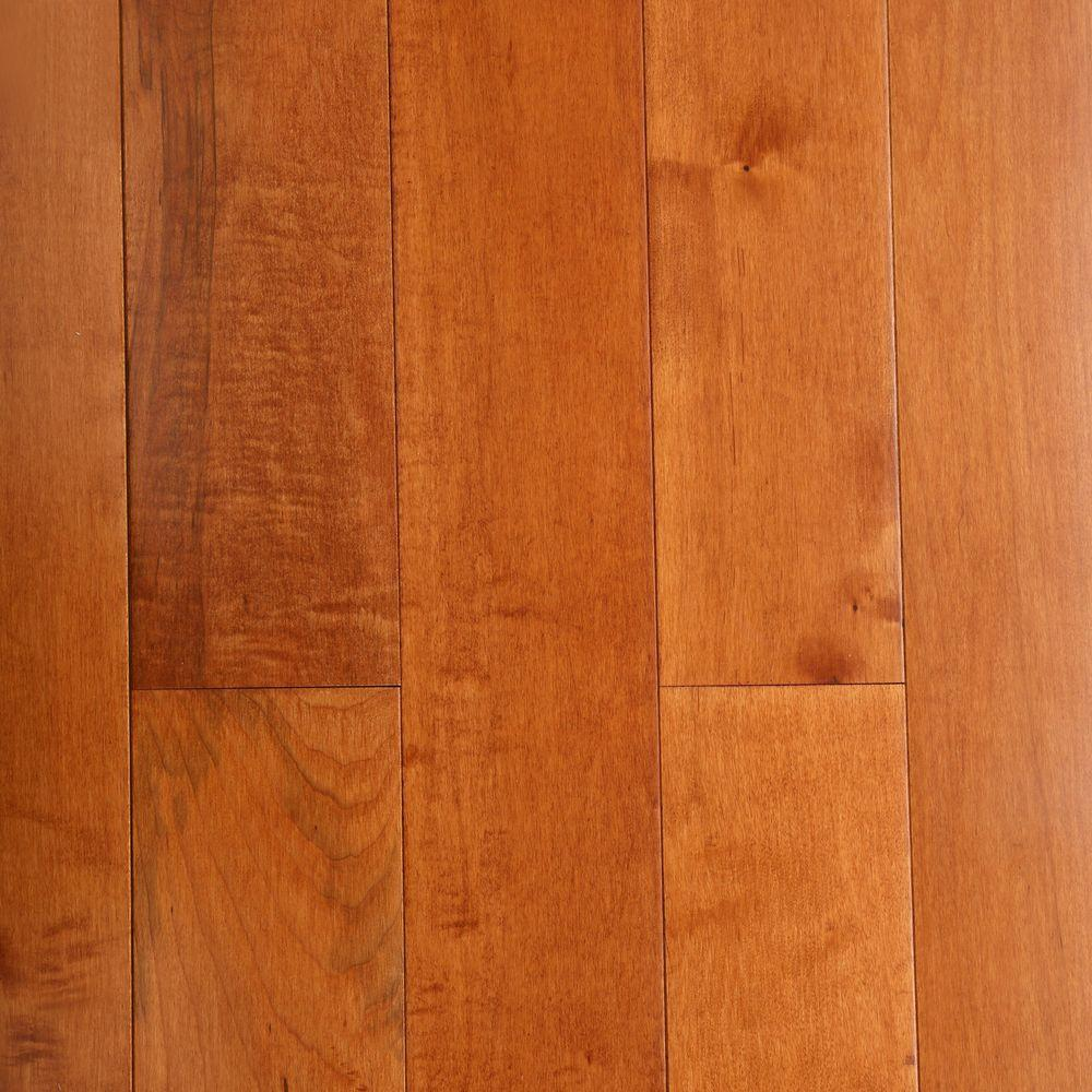 Bruce maple cinnamon 3 4 in thick x 5 in wide x random for Bruce hardwood flooring