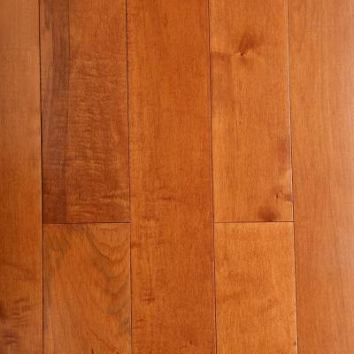 Maple Cinnamon 3/4 in. Thick x 5 in. Wide x Varying Length Solid Hardwood Flooring (23.5 sq. ft. / case)