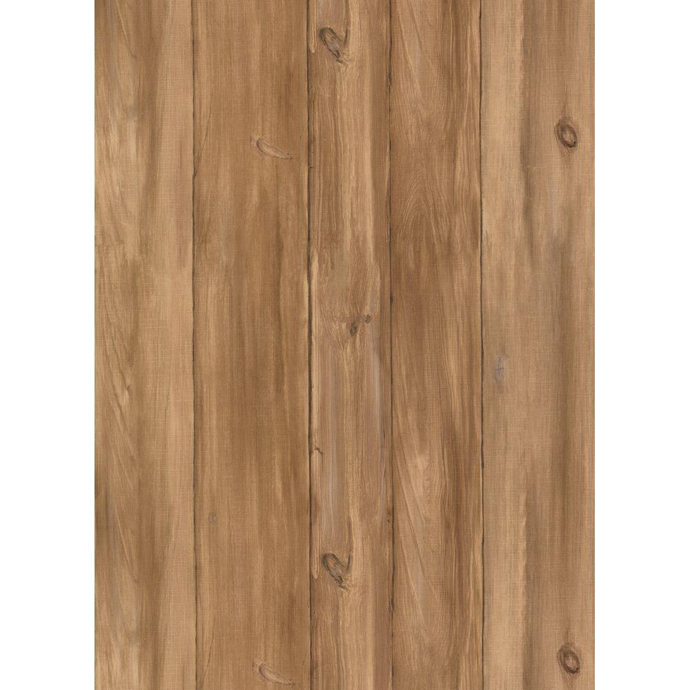 York Wallcoverings 56 sq. ft. Barnboards Wallpaper