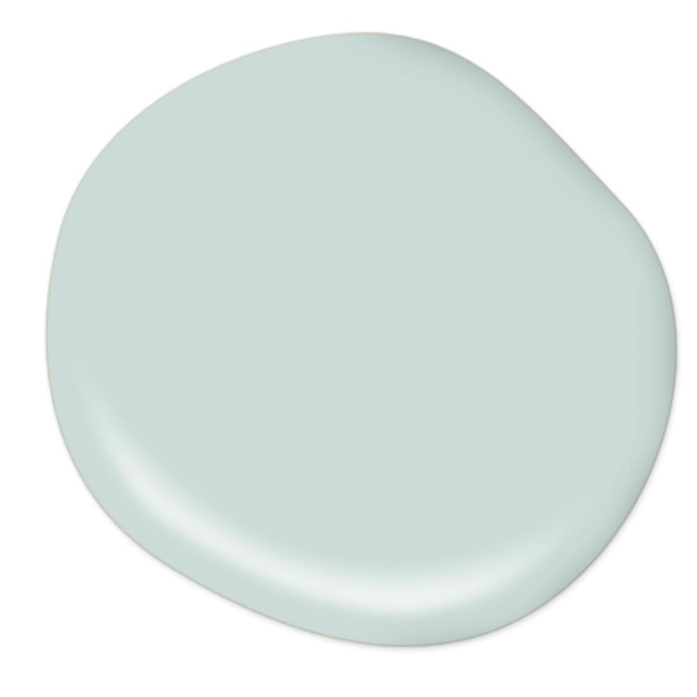 Behr Blue Cypress paint color - Come be inspired by interior design photos with French Green Paint Colors and Serene French Blue-Greens. #greenpaintcolors #mintgreen #interiordesign #paint #bluecypress