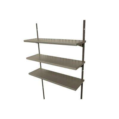 30 in. Polyethylene Shelf Kit for 8 ft. Lifetime Shed