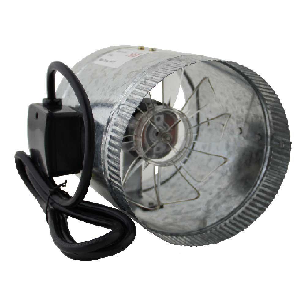 HomeAire 6 in. Inline Duct Boost Fan