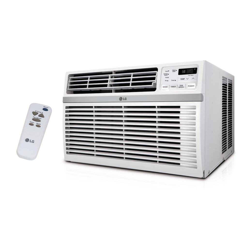 LG Electronics 10,000 BTU 115-Volt Window Air Conditioner with Remote and ENERGY STAR LG Electronics 10,000 BTU 115-Volt Window Air Conditioner with Remote and ENERGY STAR