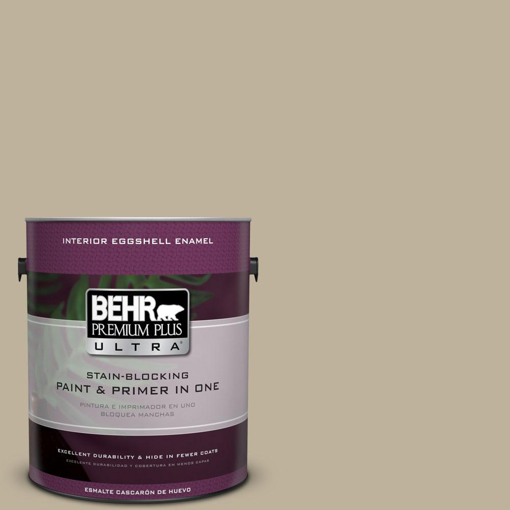 1 gal. #770D-4 Clay Pebble Eggshell Enamel Interior Paint and Primer