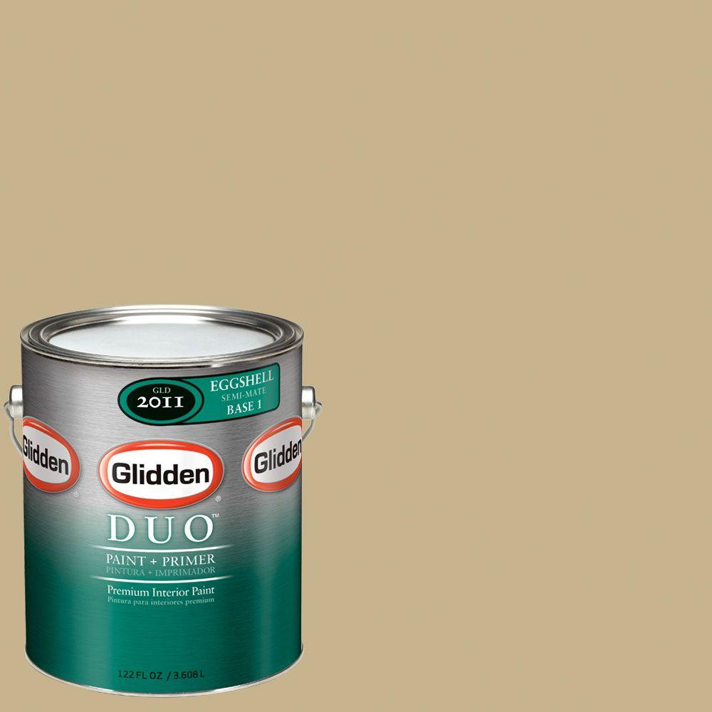Glidden DUO Martha Stewart Living 1-gal. #MSL078-01E Dune Eggshell Interior Paint with Primer-DISCONTINUED