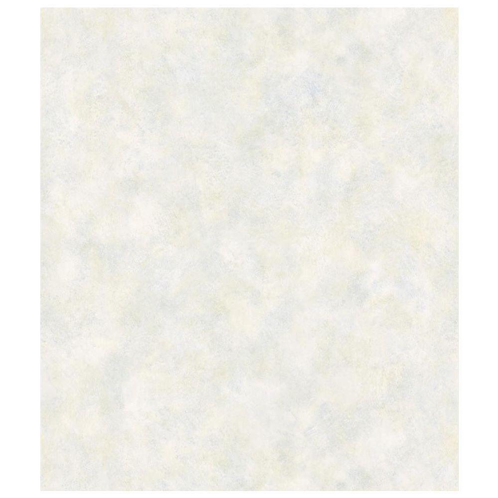 Cottage Living Hush Aqua Gauzy Texture Wallpaper Sample