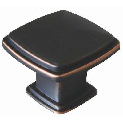 Park Avenue 1-1/4 in. Oil Rubbed Bronze Cabinet Knob