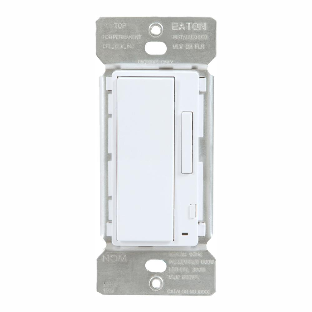 Halo White In Wall Accessory Dimmer For Use With Home Lights