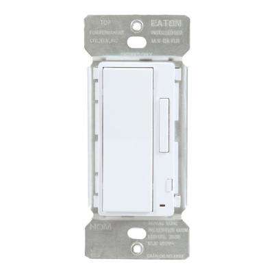 White In Wall Accessory Dimmer For Use With Home Lights By Halo