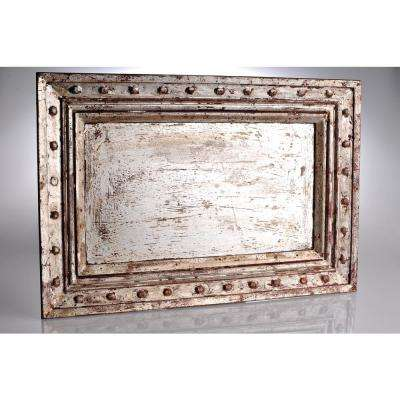Vendome Sliver Wood Decorative Tray