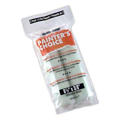 6-1/2 in. x 3/8 in. Jumbo-Koter Painter's Choice Synthetic Rollers (2-Pack)