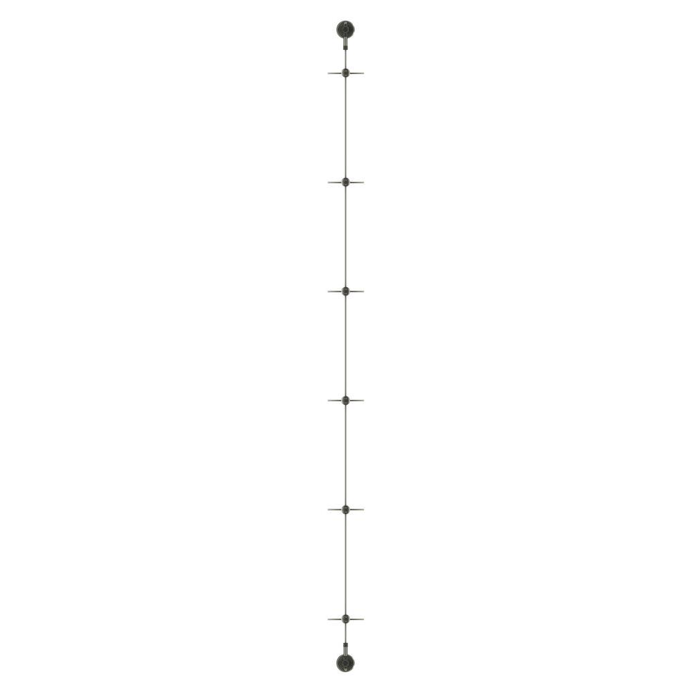Jakob 96 in. Individual Wire Rope Plant Trellis System for Vines ...