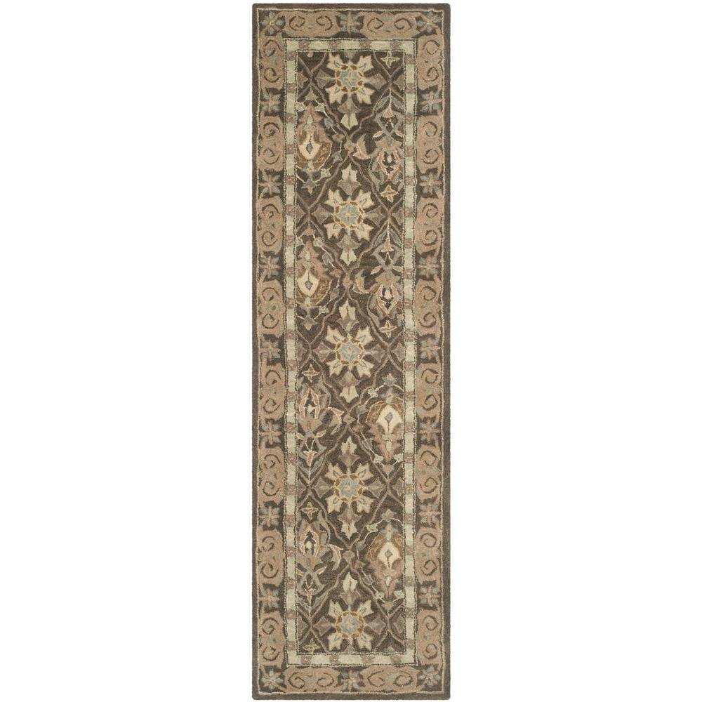 Anatolia Brown/Beige 2 ft. 3 in. x 8 ft. Runner