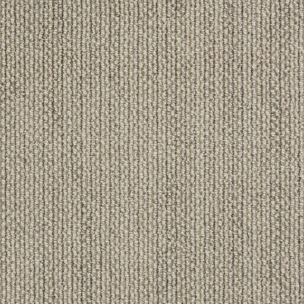 Panorama Tweed Linen Custom Area Rug With Pad