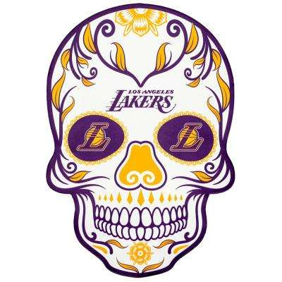 NBA Los Angeles Lakers Outdoor Skull Graphic- Small