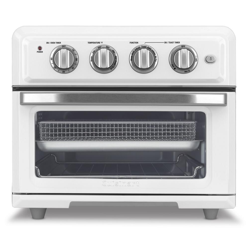 1800-Watt 6-Slice White Toaster Oven and Air Fryer