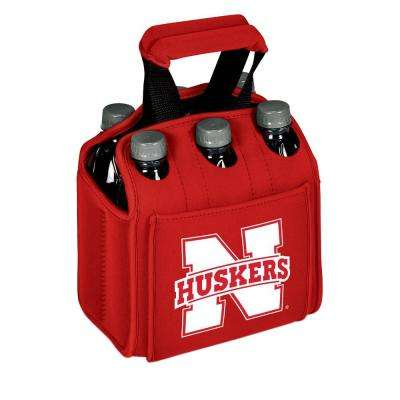 University of Nebraska - Lincoln Cornhuskers 6-Bottles Red Beverage Carrier