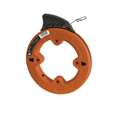 25 ft. High Strength 1/8 in. Wide Steel Fish Tape