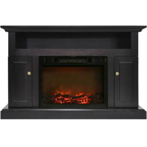 Cambridge Sorrento Electric Fireplace with 1500-Watt Log Insert and 47 inch Entertainment... by Cambridge