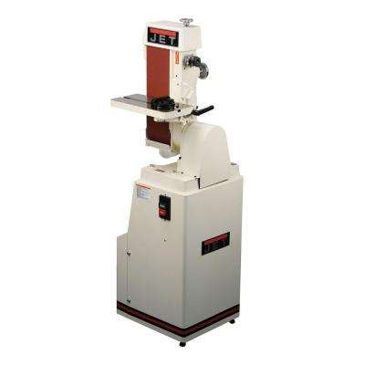 1.5 HP 6 in. x 48 in. Industrial Horizontal/Vertical Belt Finishing Sander with Closed Stand, 115/230-Volt J-4300A