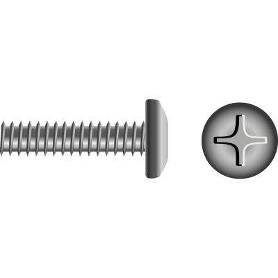 10 - 24 x 3/4 in. Pan Head Phillips Machine Screw