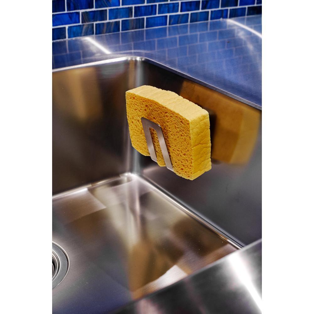 Magisso Stainless Steel Sponge Holder 70106ds The Home Depot