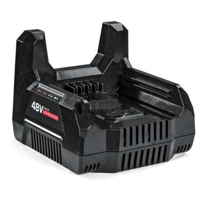 48-Volt Max Lithium-Ion Battery Charger for Snapper HD Products