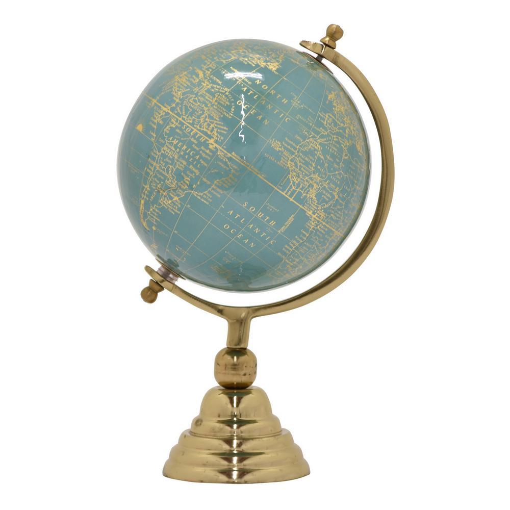 13 in. Globe 8 in. - Nickel Base in Green