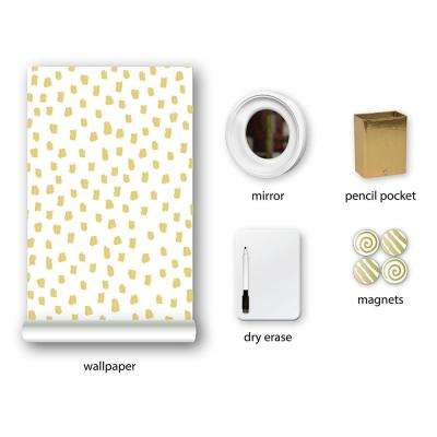 Metallic Dot, Dot, Dot Locker Kit Decal