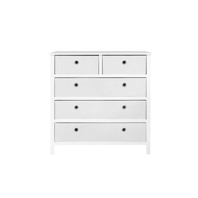 EZ Home Solutions 5-Drawer White Foldable Split Single Dresser