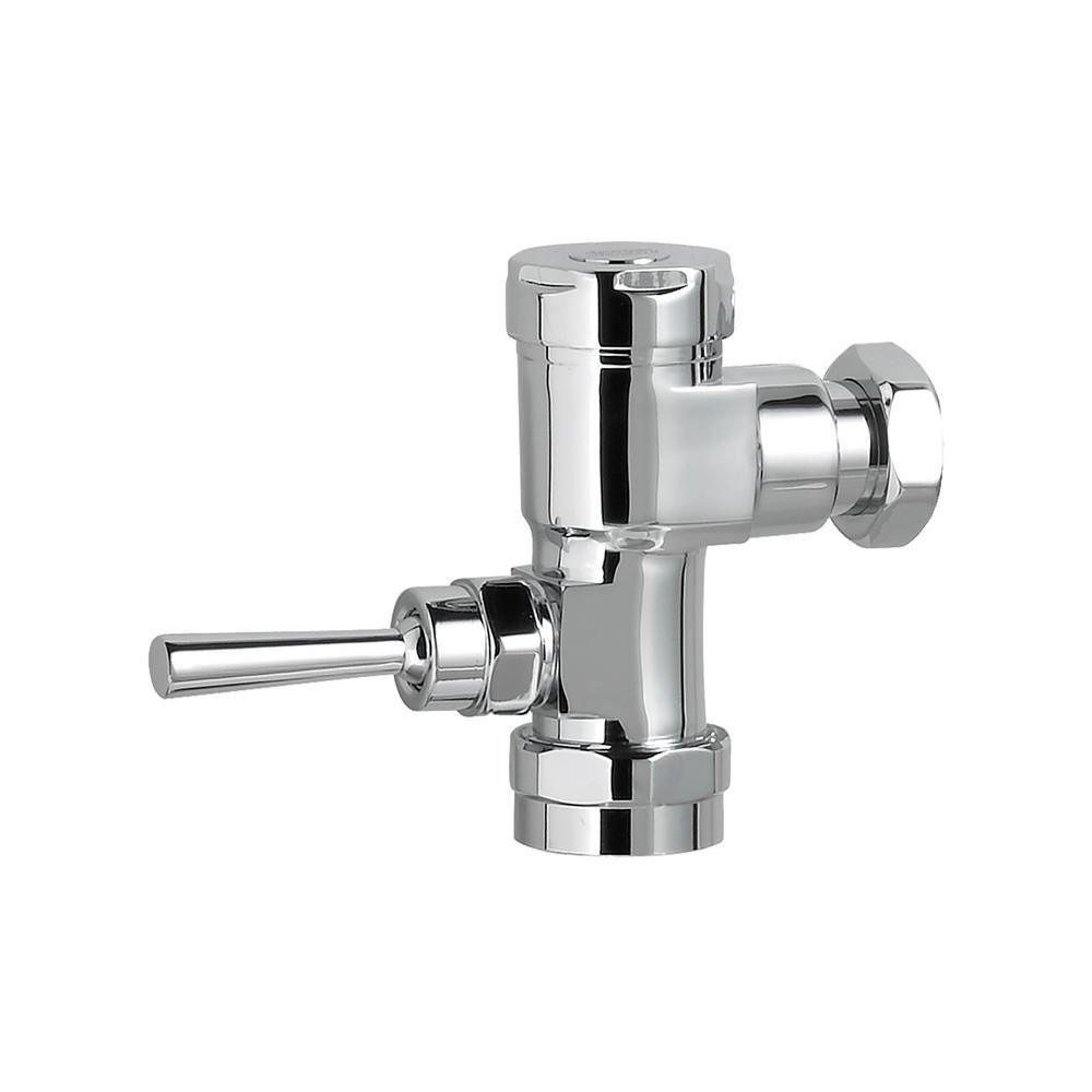 Manual 1.0 GPF Retrofit Urinal Flush Valve Only in Polished Chrome