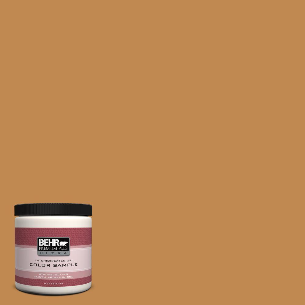8 oz. #M250-6 Toffee Tart Interior/Exterior Paint Sample
