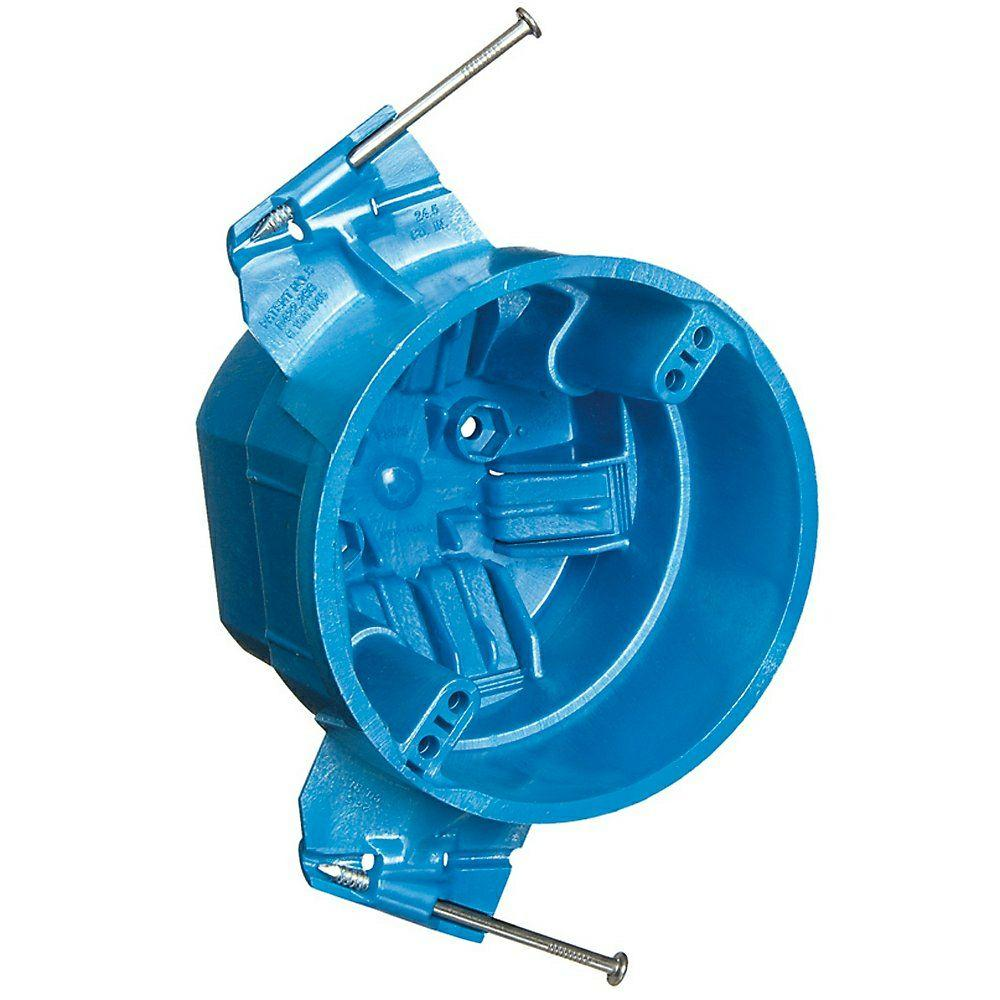 Round Hard Shell Ceiling Electrical Box