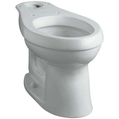 Cimarron Comfort Height Elongated Toilet Bowl Only in Ice Grey