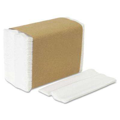 HyNap White Tall Fold Dispenser Napkins (250-Pack)