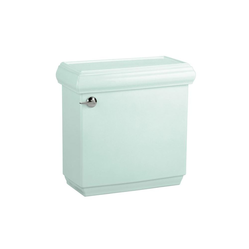 KOHLER Memoirs 1.6 GPF Toilet Tank Only with Classic Design in Seafoam Green-DISCONTINUED