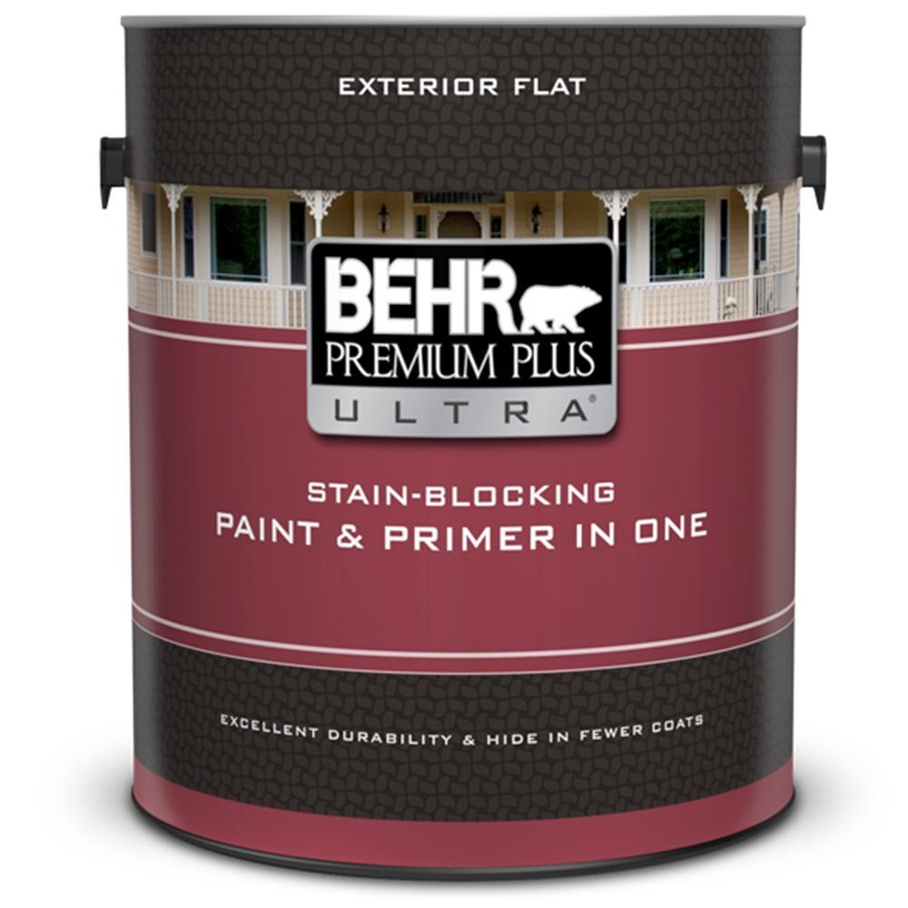 This Review Is From 1 Gal Ultra Pure White Flat Exterior Paint And Primer In One