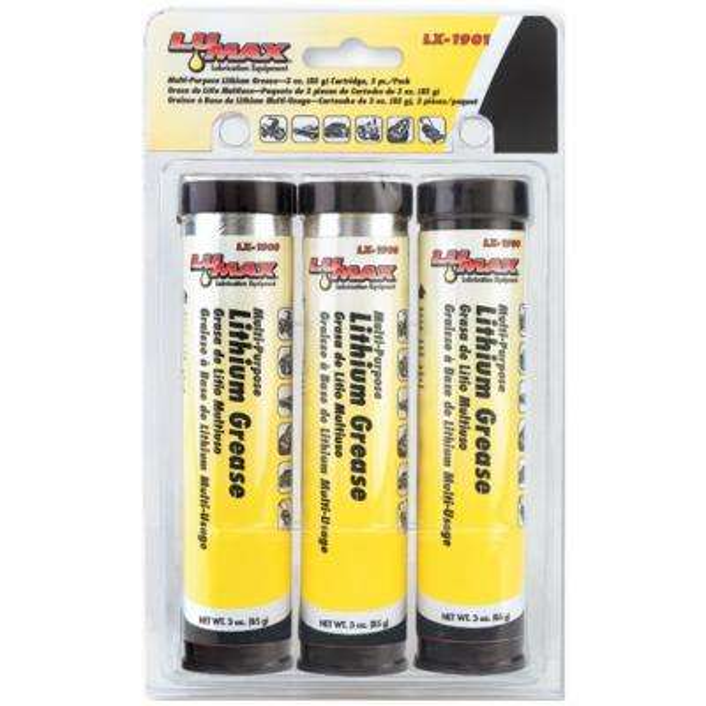 3 oz. Multi-Purpose Lithium Grease Cartridge (3-Pack)