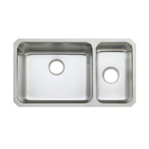 Kohler Undertone Undercounter Stainless Steel 32 inch Double Bowl Kitchen Sink by KOHLER