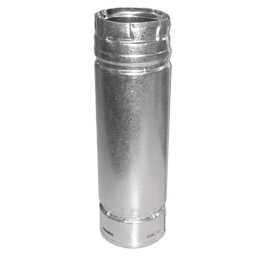Flue pipe Double Wall Insulated Stainless Steel for External chimneys